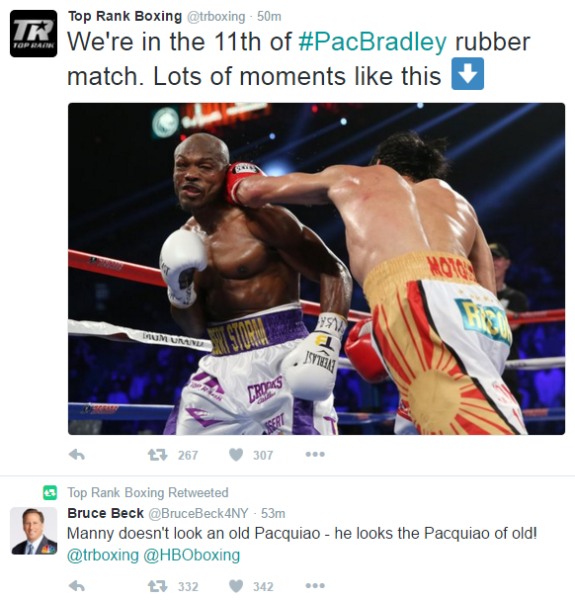 via Top Rank Twitter account