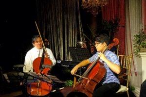 The Cellist and the Apprentice-Bravo Filipino