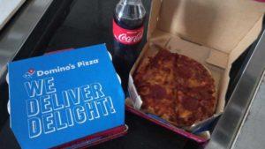 dominos pizza ph food drop