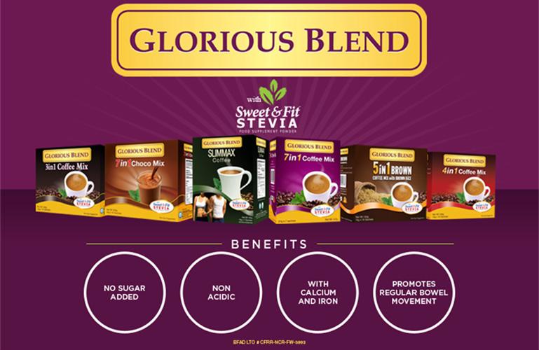 Glorious Blend Coffee - Bravo Filipino
