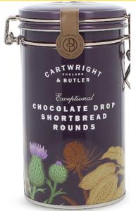 Chocolate drop shortbread biscuits 200