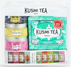 Voyage travel tea gift set