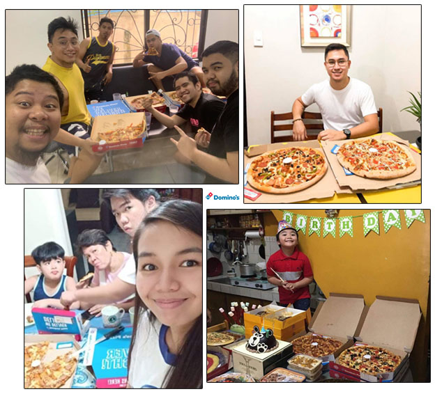 Domino's Philippines Thanks Its Loyal Customers