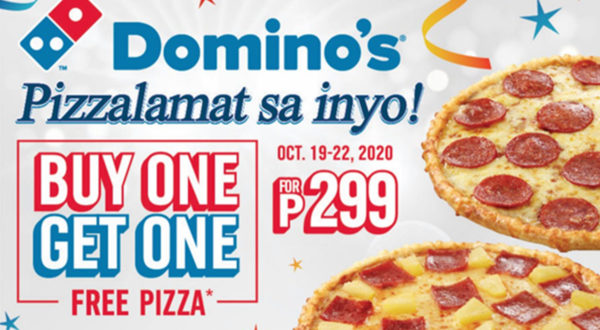 Pizzalamat Dominos Pizza Philippines