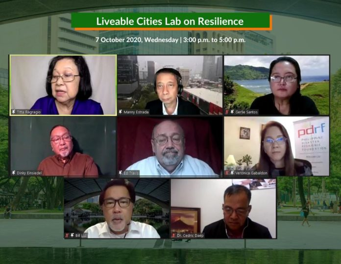LCC, Globe Webinar Panel on Disaster Resilience