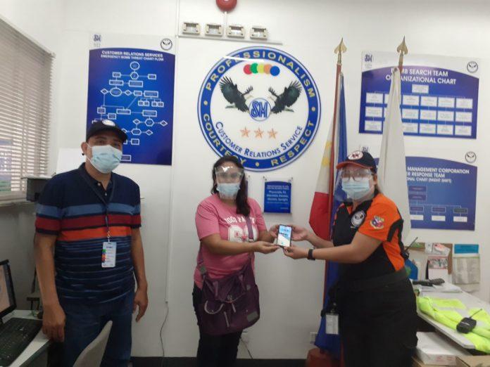 SM City Lucena Security Guards' Good Deeds