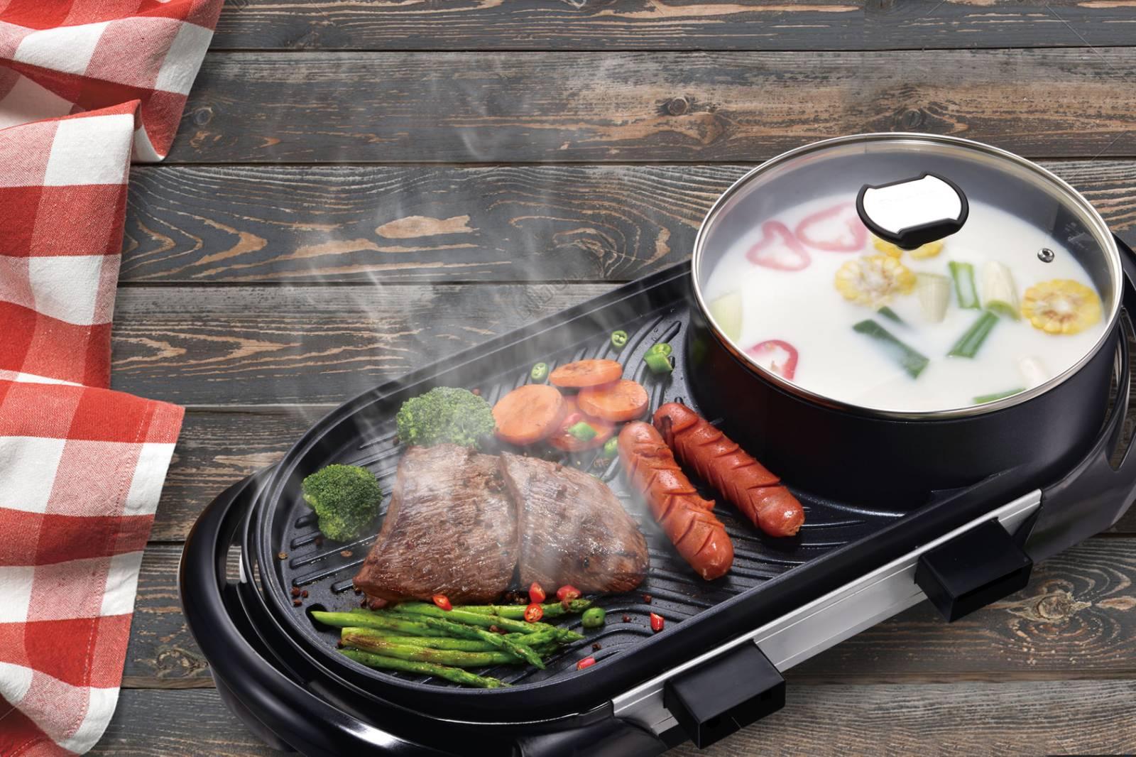 Hanabishi Hotpot BBQ Griller HHOTPOTBBQ200