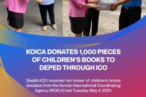 KOICA donates 1,000 pieces of children's books