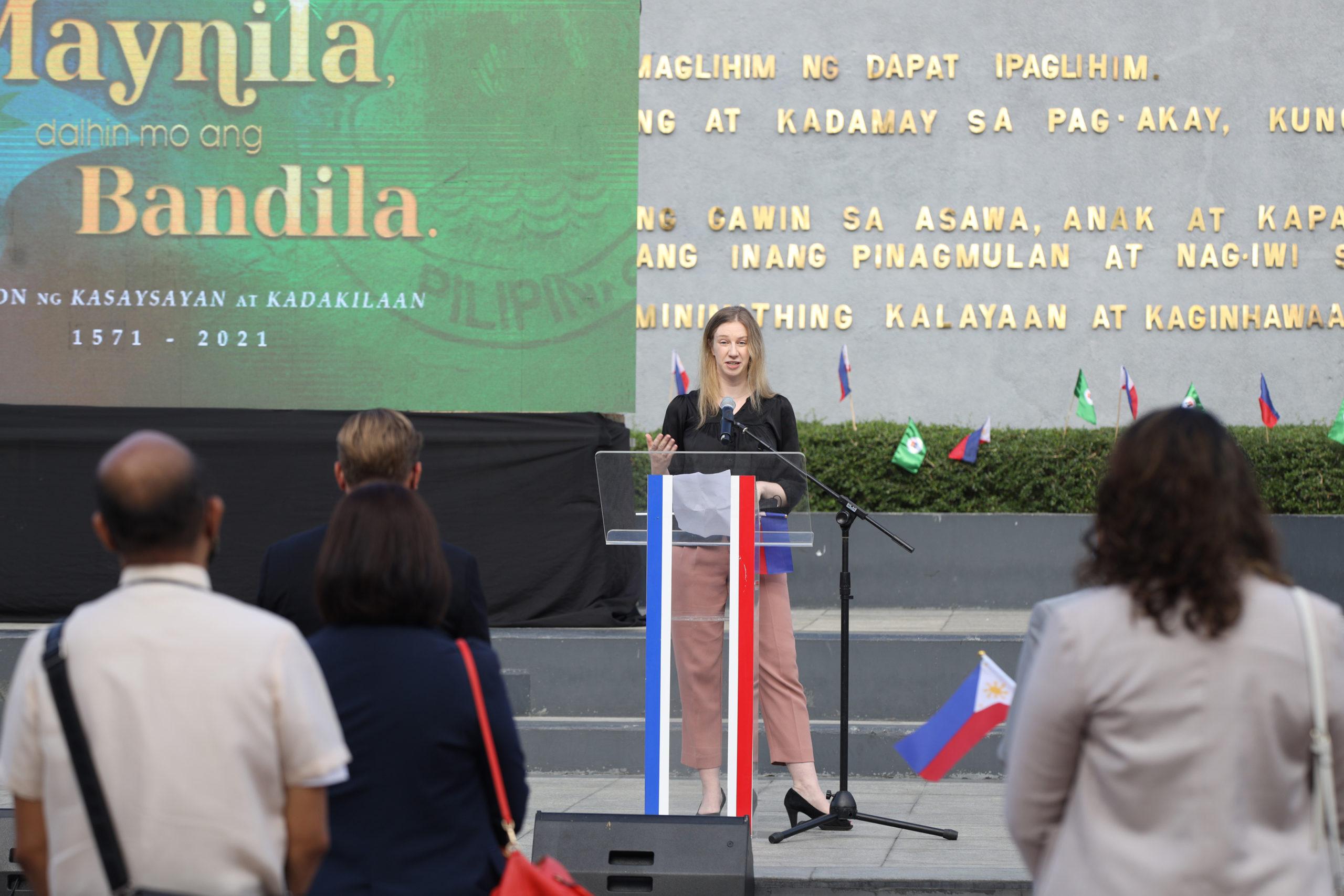 Laura Oexle, German Embassy Deputy Head of Mission