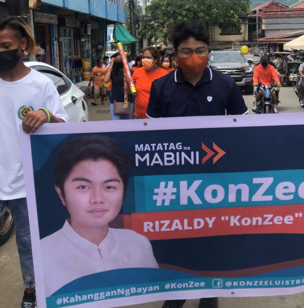 """Para sa Matatag na Mabini By Rizaldy """"KonZee"""" Luistro"""